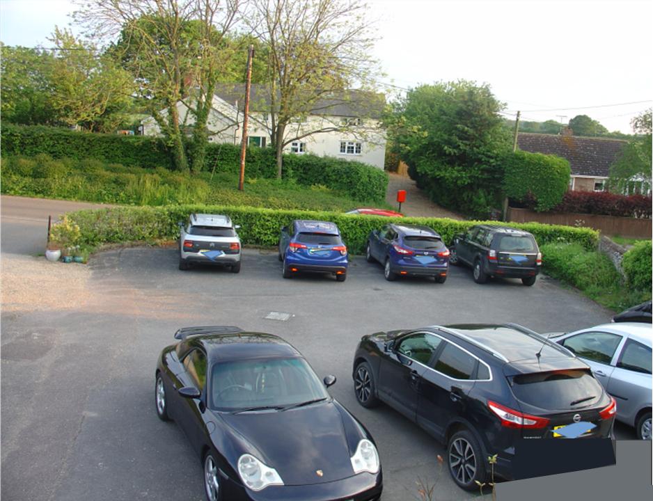 car park, Solstice Wellbeing Centre, Bradfield St George